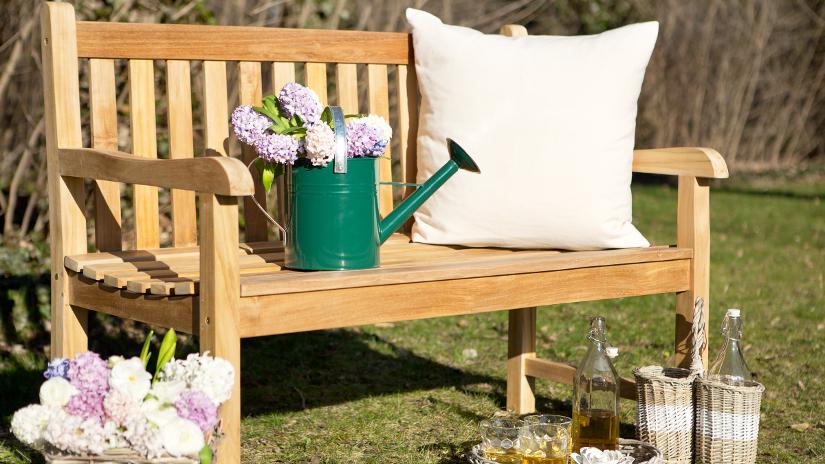 Bancos de jardín: encuentra el tuyo en WESTWING