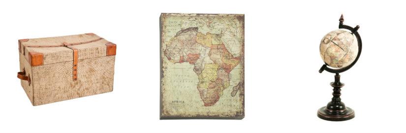 decoración africana accesorios