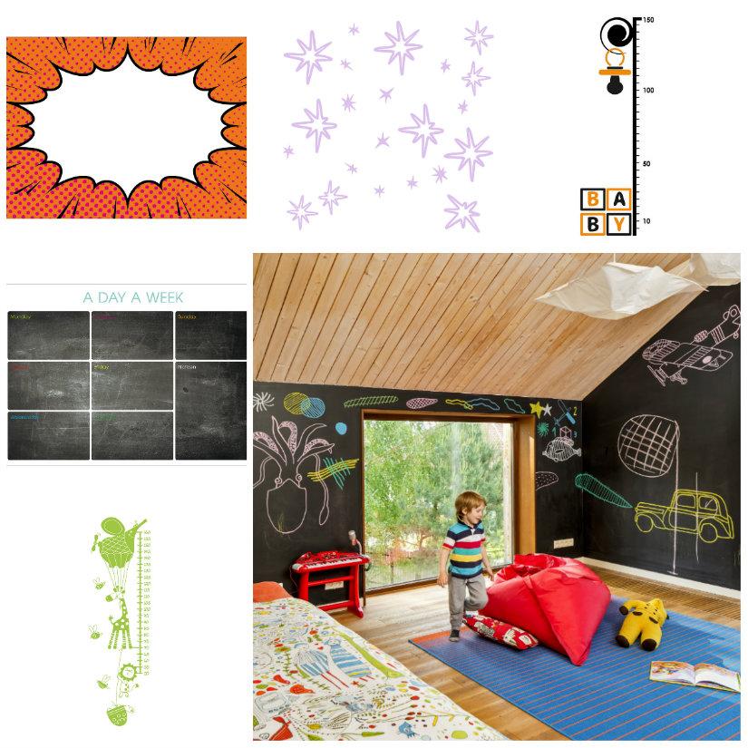 decoración de paredes cuarto infantil