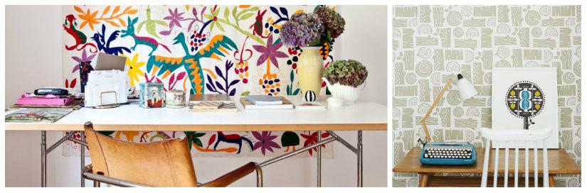 Decoraci n de paredes ideas y fotos para inspirarte - Papel para paredes con gotele ...