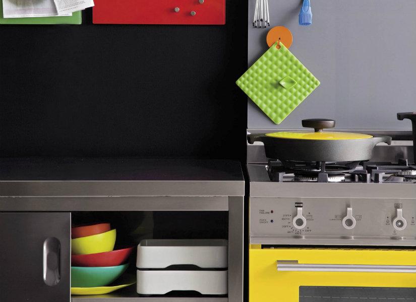 mini cocinas de colores