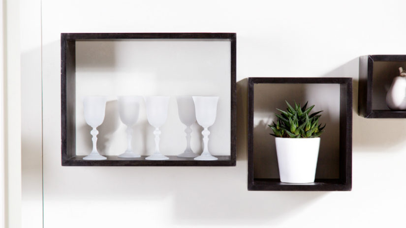 decoración con porcelana