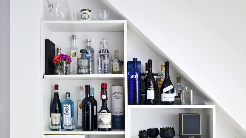 Botelleros un gran dise o para un gran vino westwing - Muebles para poner botellas de vino ...