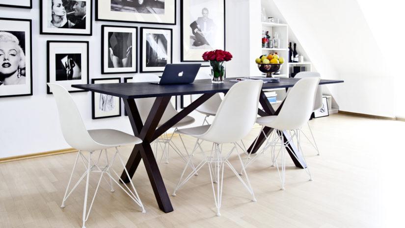 Despacho en casa moderna