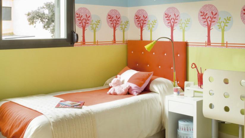 decoración de camas y literas infantiles