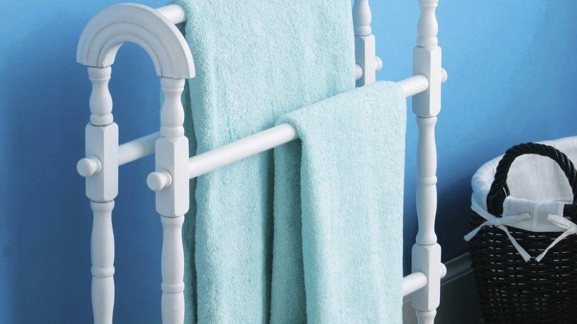 Diseño de baños toallero