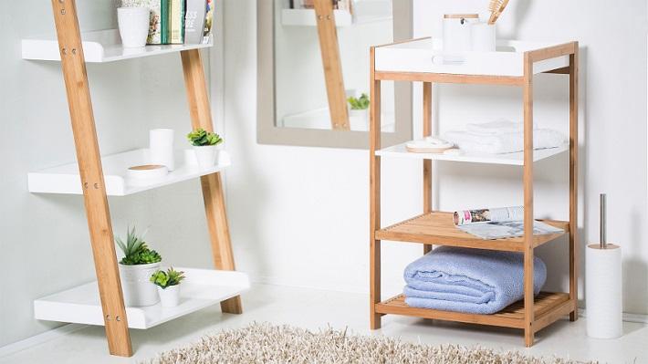 ideas para baños almacenamiento
