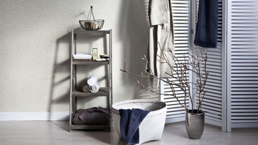 ideas para baños con textiles