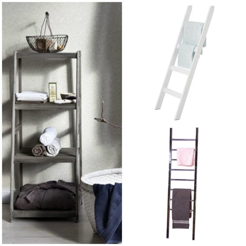 ideas para baños toallero