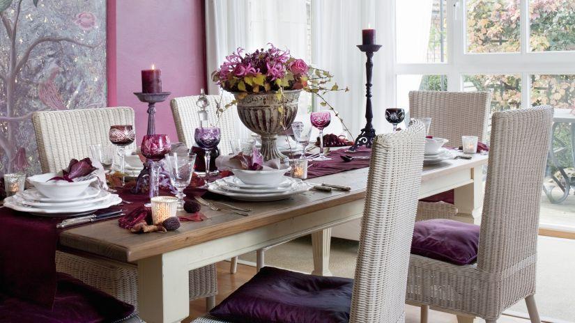 Mesas de comedor extensibles veladas nicas westwing - Centros de mesa para salon comedor ...
