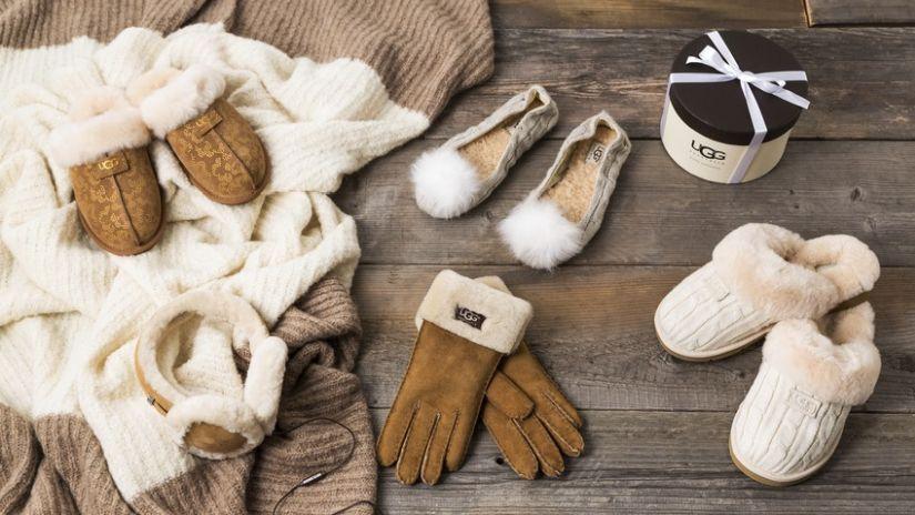 Par de gantes en piel