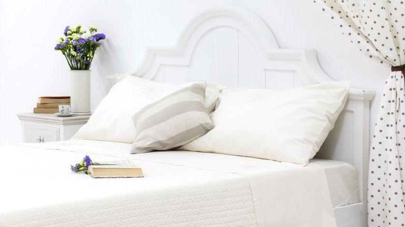 Cabecero de cama blanco excellent cabecero diamonds with - Cabeceros de cama blancos ...