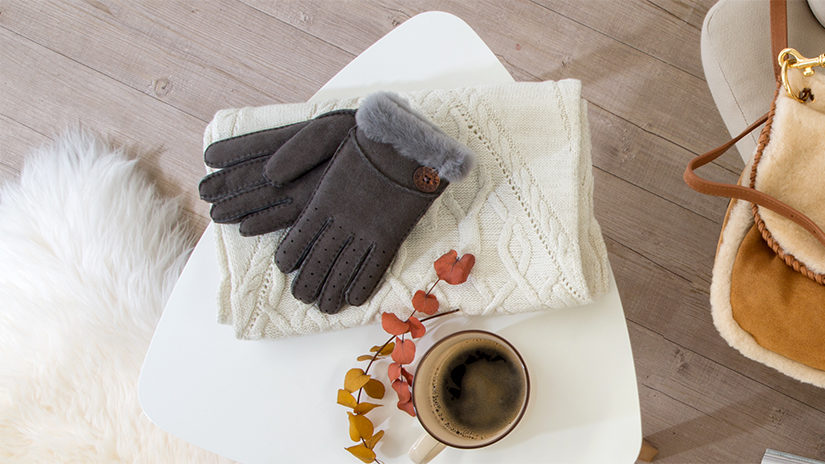 par de guantes