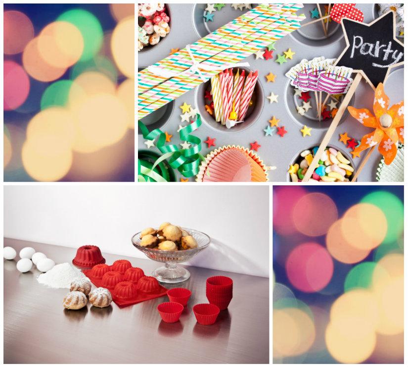 mesas dulces caramelos y magdalenas