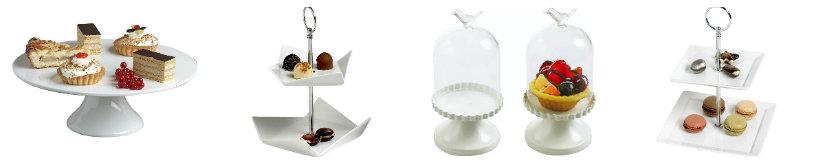 mesas dulces platos para pasteles