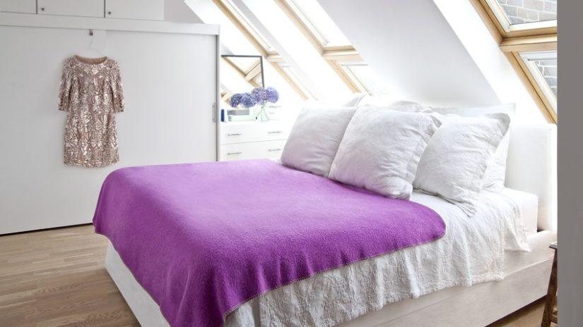 Diseño de dormitorios buhardilla