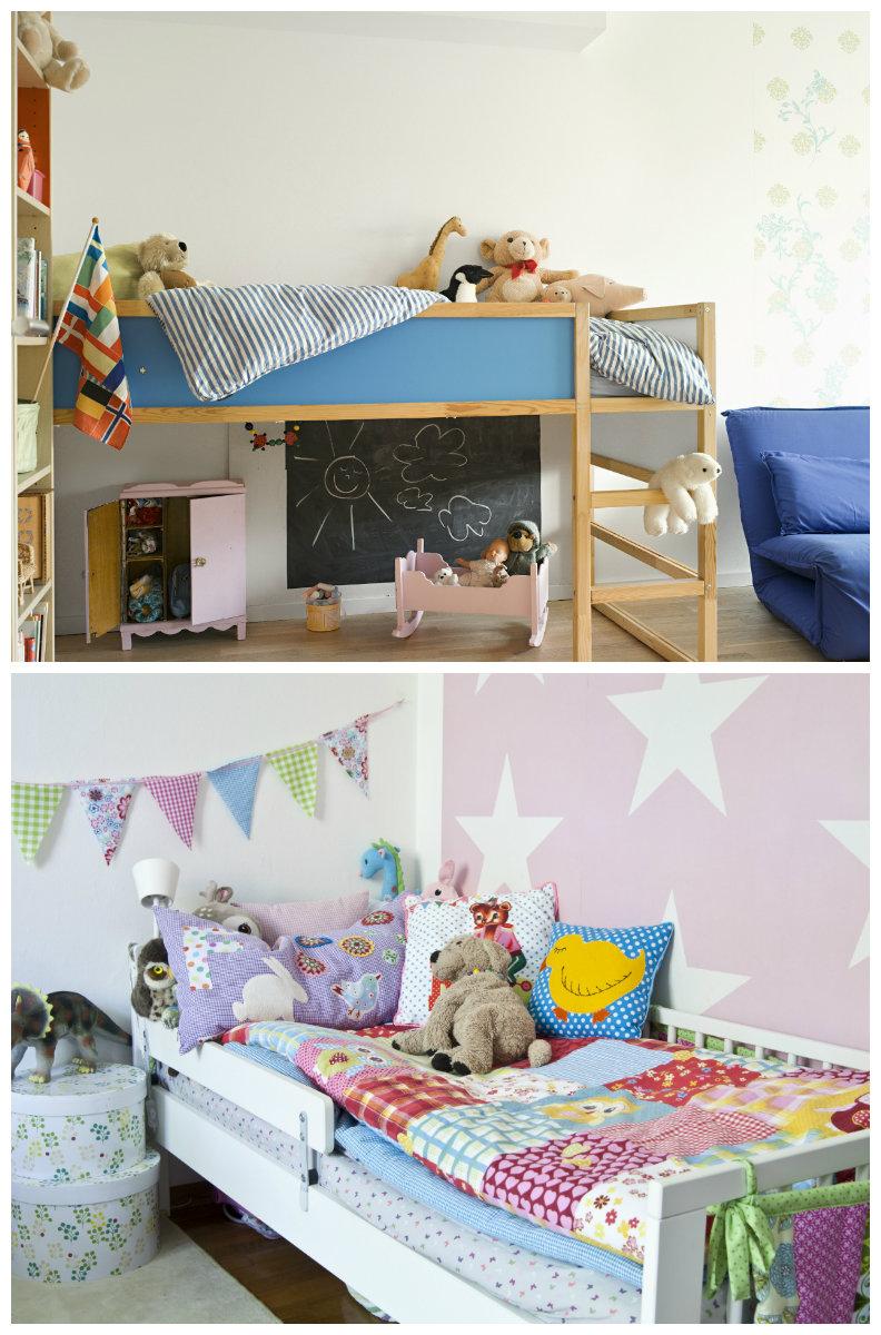 dormitorios pequeños camas