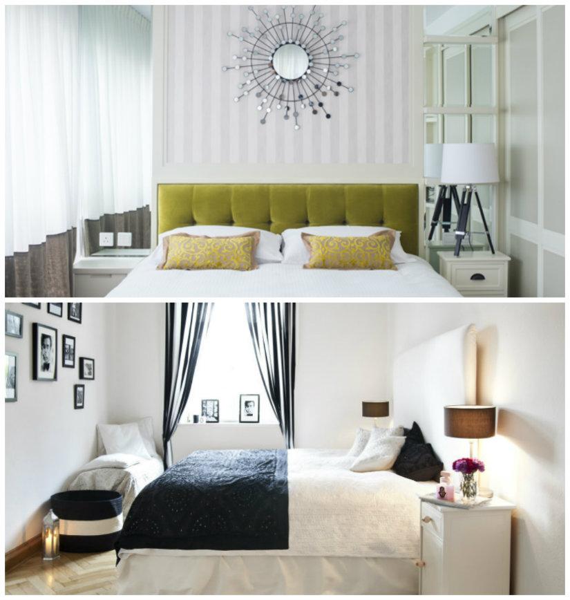 dormitorios pequeños trucos