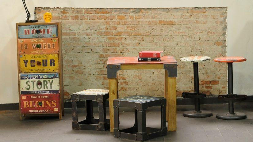 Estilo industrial consejos y trucos de decoraci n for Muebles estilo nordico baratos