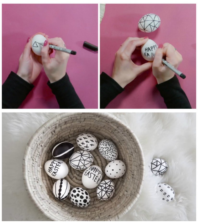 manualidades para decorar huevos