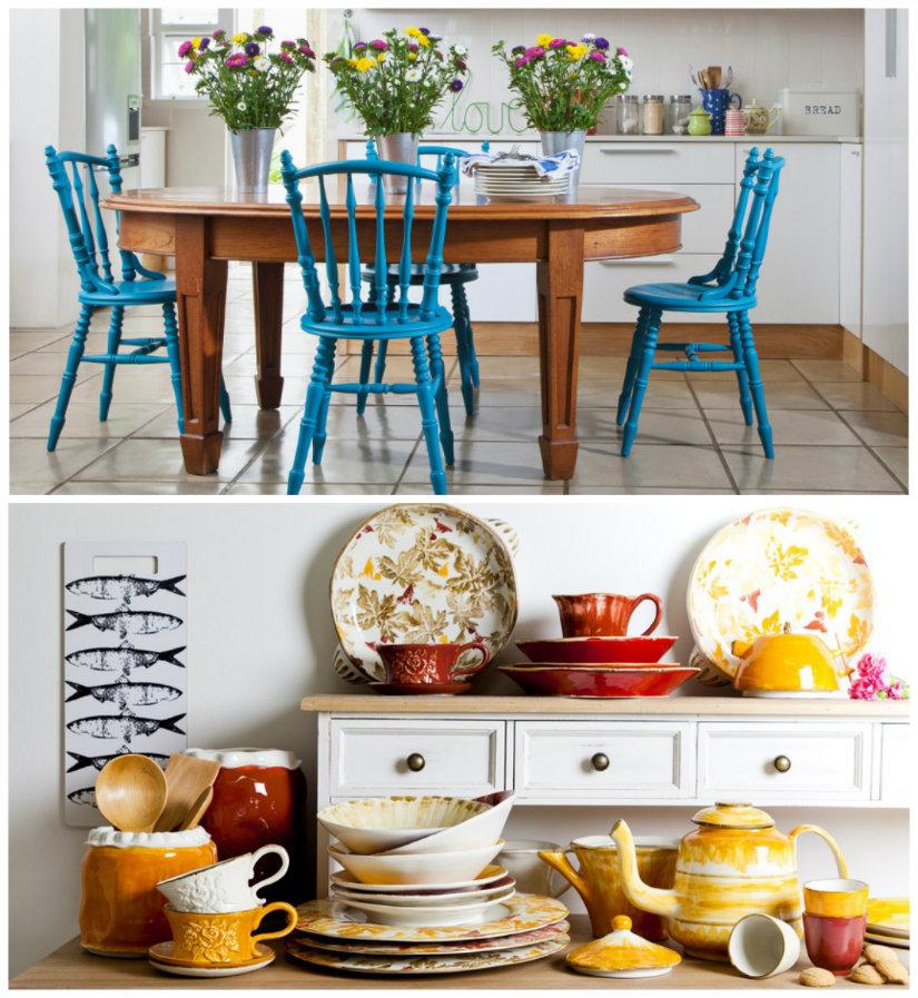 Decoraci n de cocinas ideas llenas de color westwing - Cocinas con estilo ...