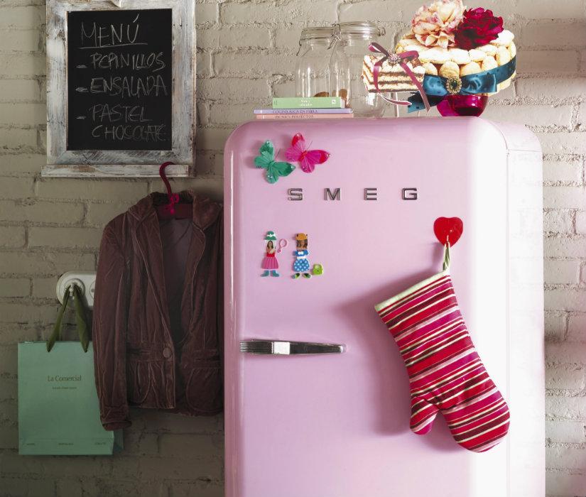 decoración de cocinas electrodomésticos de colores