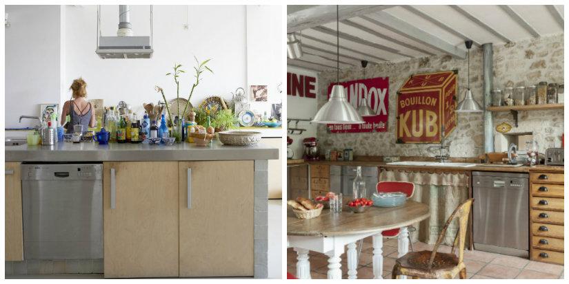 decoración de cocinas en madera