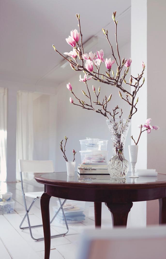 Libra_decoración de flores