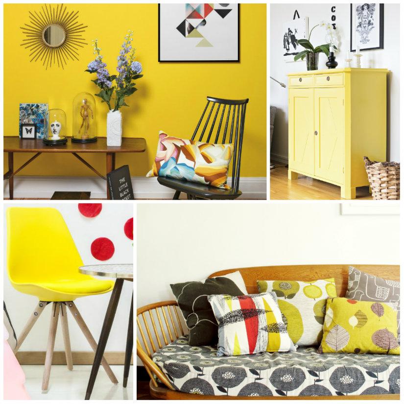 colores para salones amarillo