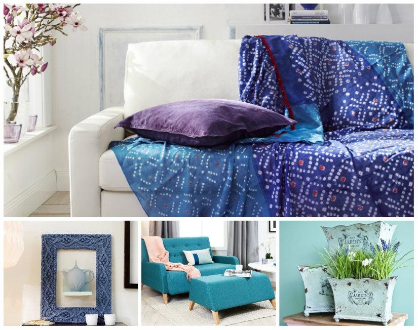 colores para salones azul detalles