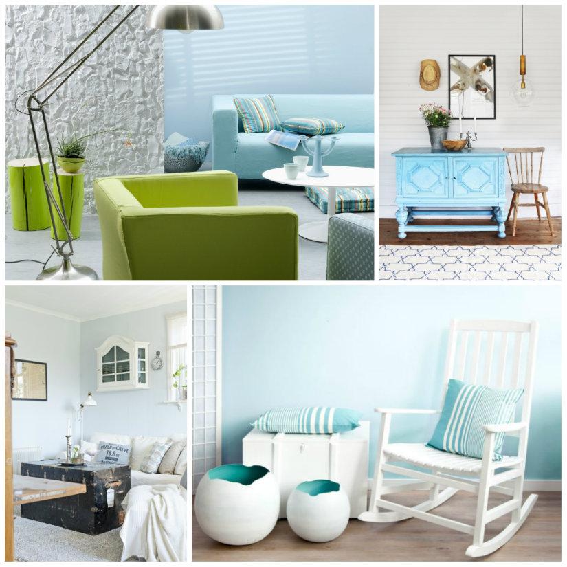 colores para salones azul