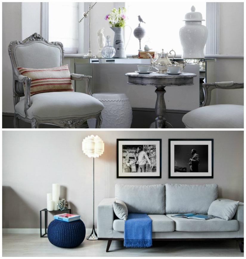 colores para salones gris claro