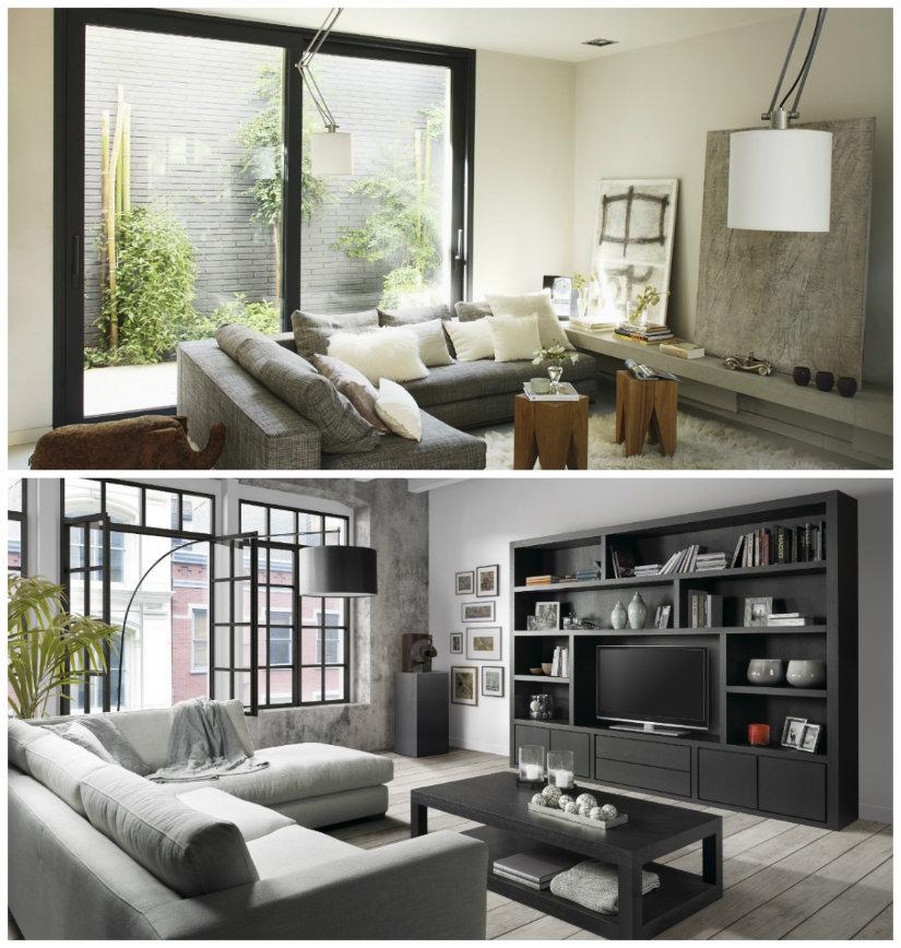 colores para salones gris