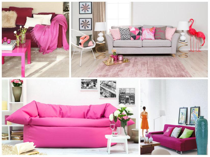 colores para salones rosa