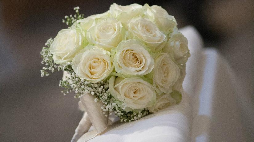 ramos de novia blancos