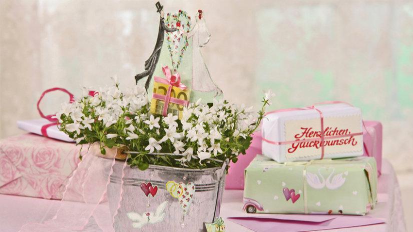 ramos de novia el día de la boda