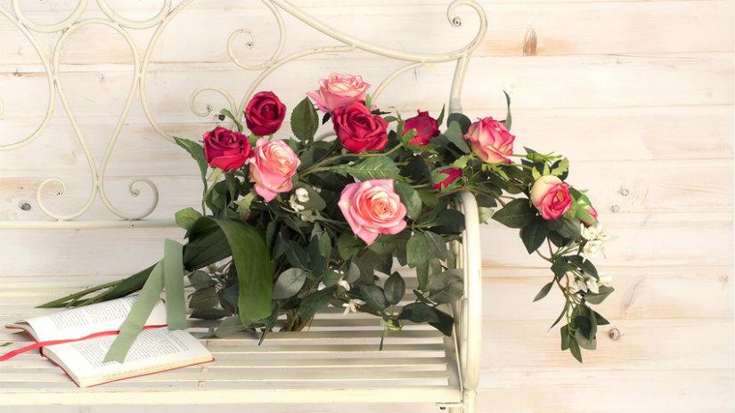 ramos para novias románticos