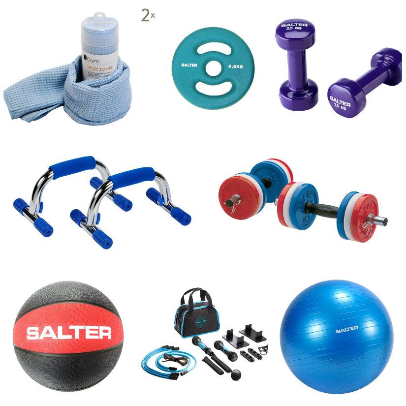 accesorios para un gimnasio en casa