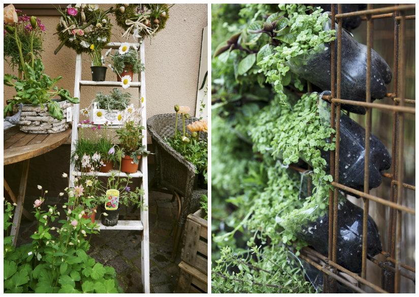 jardines de primavera verticales
