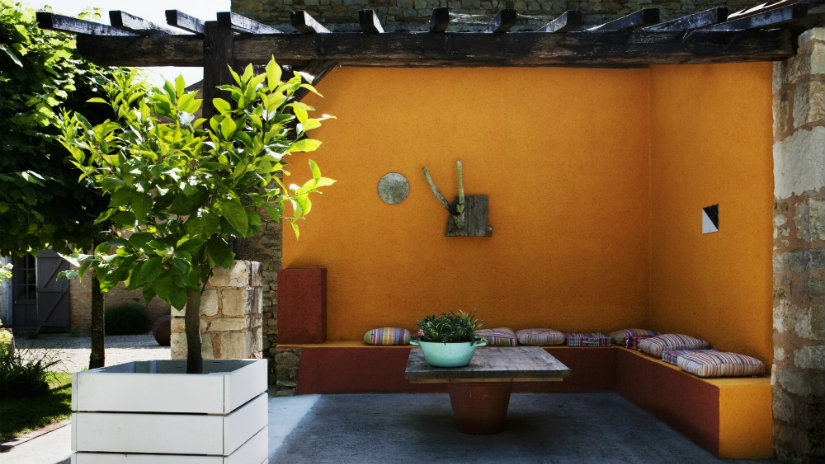 Colores para patios contrastes y estilos westwing - Patios exteriores ...