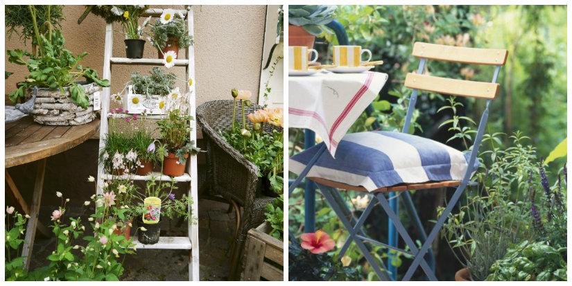 decoración de terrazas vegetación