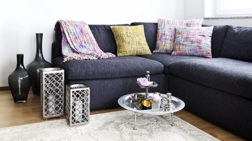 estilo árabe sofá