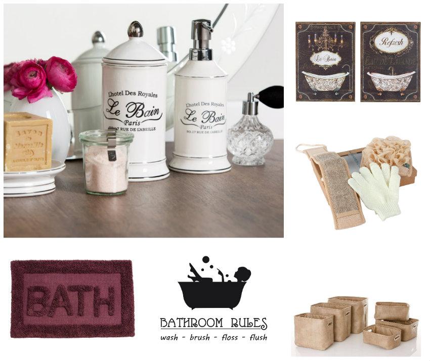 baño de lujo accesorios
