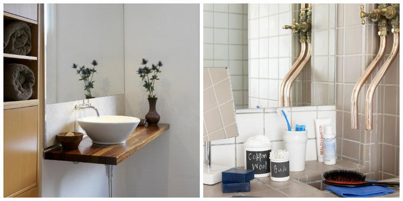 baño minimalista detalles