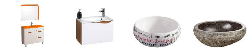 baño moderno lavabo