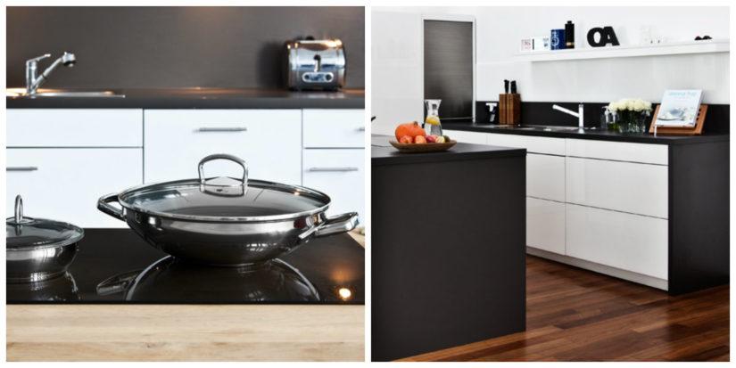 Muebles minimalistas cocina