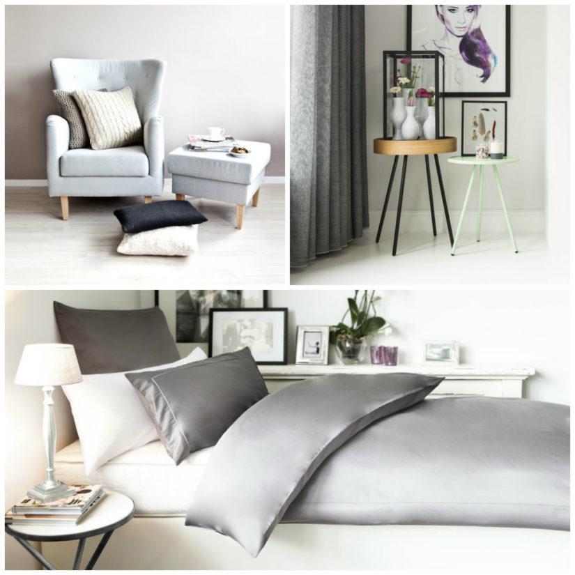 Estilo minimalista gris