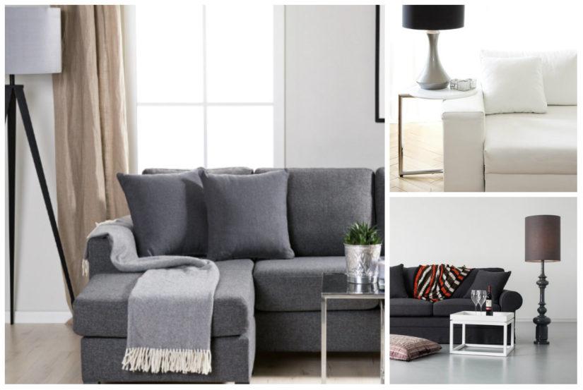 Muebles minimalistas salon