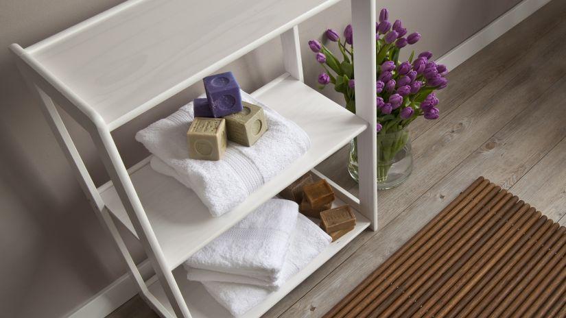estanterías de baño
