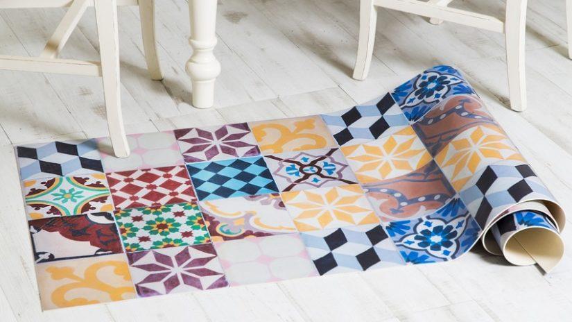 alfombra estilo mexicano
